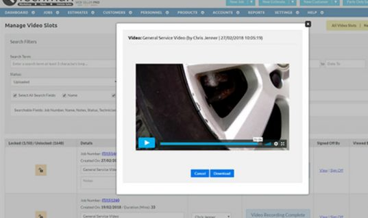 Video functionality boosts garage customer confidence, experts say
