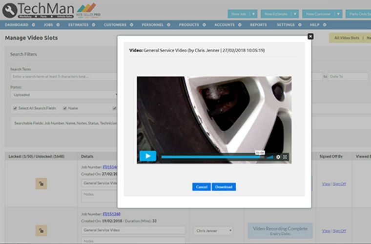 TechMan adds video capability to TechView bringing more opportunities for garages
