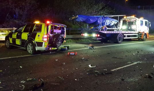 Renewed concern for roadside recovery agents following M6 crash