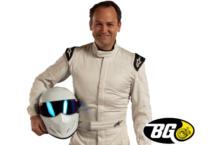 Former Stig tests the BG Products fuel saving service