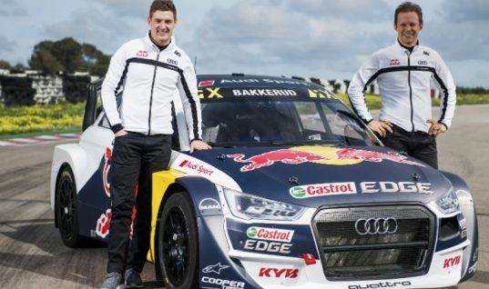 KYB renews sponsorship with FIA World Rallycross team
