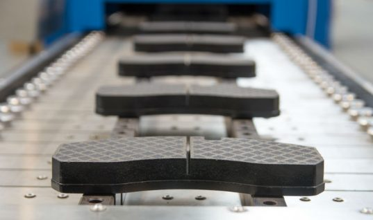 New stand-alone brake pad line reduces braking distance by three metres
