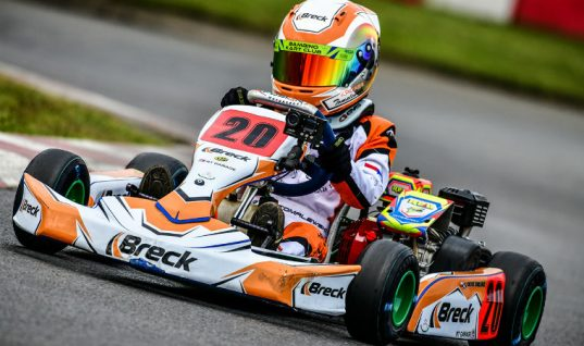 Video: Eight-year-old receives BRECK racing sponsorship deal