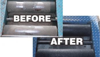 ProCoat System brake roller gritting kits from Prosol
