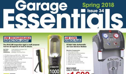 """Exclusive product debuts detailed in spring issue of """"Garage Essentials"""""""