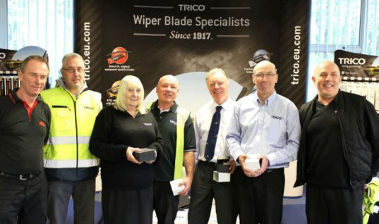 TRICO celebrates silver anniversary of seven employees