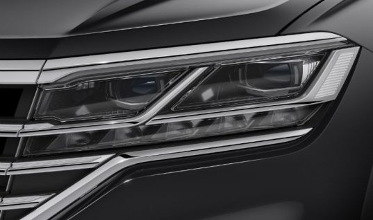 New VW Touareg gets innovative HELLA LED matrix headlamps