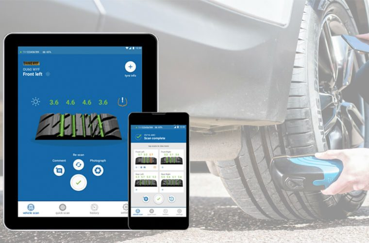 Video: Analyse tyre tread levels quicker and easier with innovative tyre scanner
