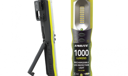 Update your toolbox with 1K lumen USB rechargeable handlamp