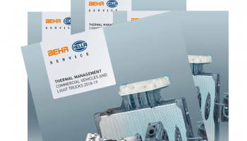 Behr Hella Service announce new CV and LCV thermal management catalogue
