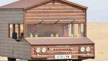 Watch: Garden shed breaks land speed record at 101mph