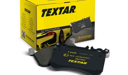 New to range Jaguar, Mazda and Fiat pads available from Textar