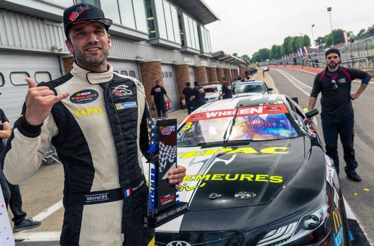 Brands Hatch Hosts MOOG sponsored European NASCAR series