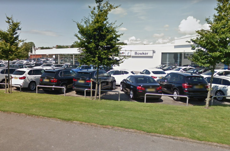 "Air Ambulance called out to BMW dealership after ""car falls on man"""