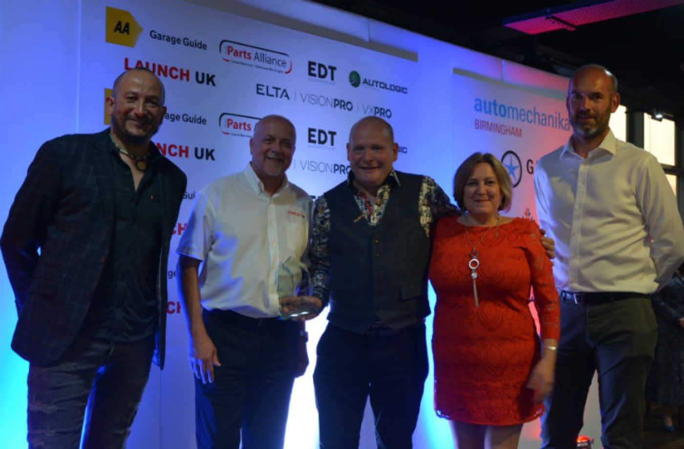 The Garage Whitburn gets special congratulations following awards evening