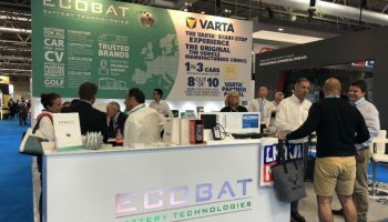 Complete ECOBAT battery package showcased at Automechanika Birmingham