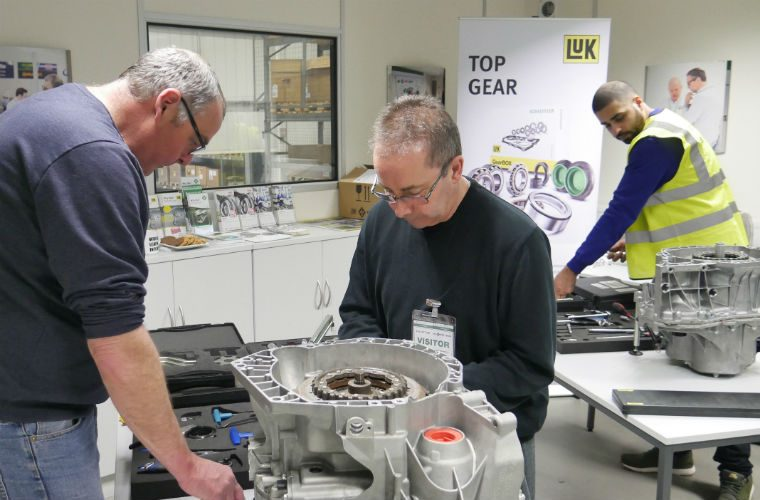 Watch: GWTV reports on Schaeffler's REPXPERT LuK 2CT double clutch course