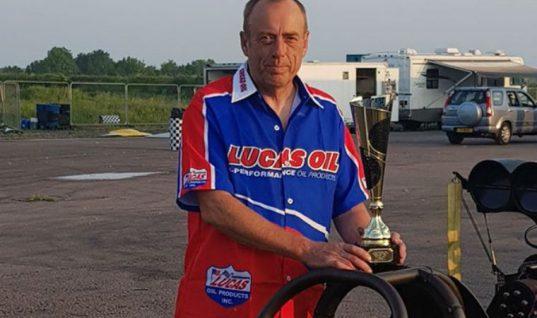 Lucas Oil sponsored drivers collect Santa Pod Raceway trophies