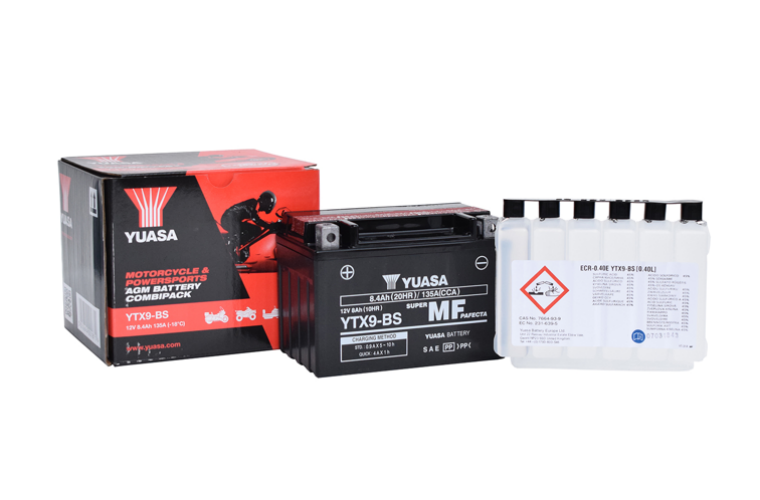 New regulations to change how motorcycle batteries are sold in the UK