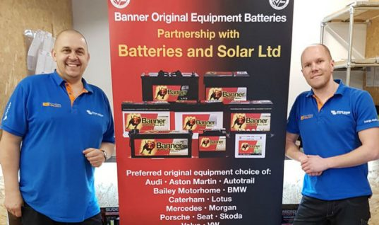 Banner Batteries announce partnership with Batteries & Solar