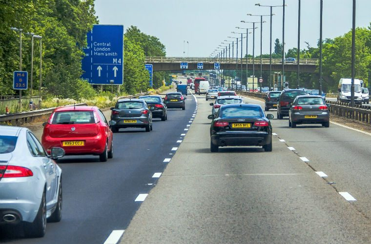AA expresses concerns as 400 miles of hard shoulder set to be removed from motorways