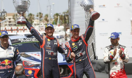 Video: Monroe safety ambassador Thierry Neuville gains ninth career win