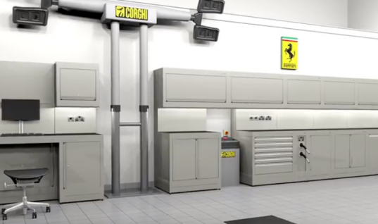 Watch: Inspiring Dura 3D renders show what's possible for garage workshops