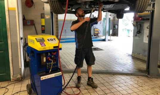 """Workshop achieves """"incredible results"""" with award winning decontamination machines"""