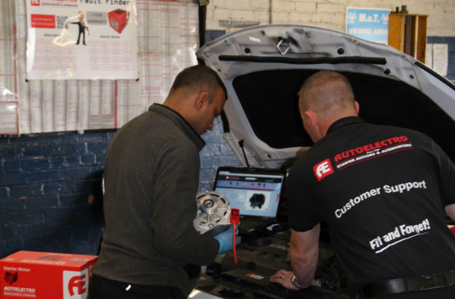 Corroded earth causing Fiat Grande Punto starter failure