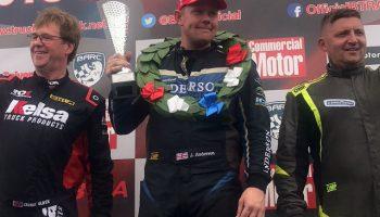 Millers Oils sponsors British Truck Racing Championship team Anderson Racing