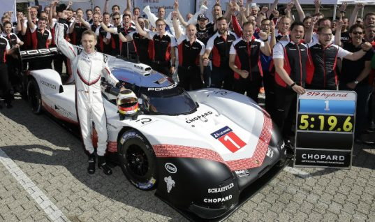Porsche and Schaeffler unite to smash Nürburgring lap record