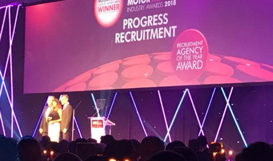 Progress Recruitment take top spot at industry awards ceremony