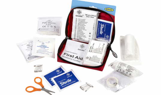 Ring introduce first aid kits to range