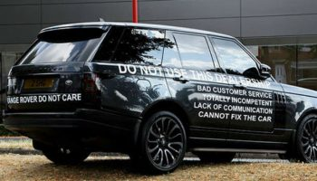 """""""Do not use this dealership"""", Range Rover owner warns customers about main dealer"""