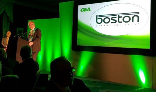 Garage Equipment Association elects Boston's Ross Tabor as President