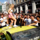 Football fans raise thousands to repair cars damaged in England World Cup celebrations