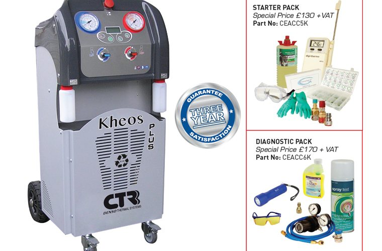 Kheos Plus R134a air con service station