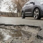 Pothole breakdowns reach three-year springtime high