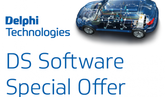 Save £100 on Delphi Technologies DS diagnostics software