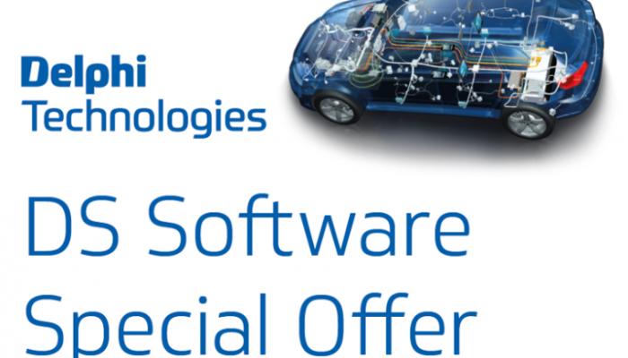 Save £100 on Delphi Technologies DS diagnostics software
