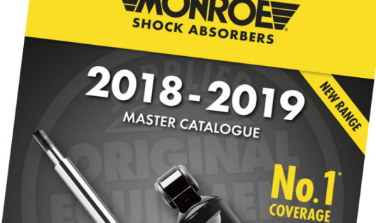 Tenneco publishes new Monroe light-vehicle shock absorber catalogue