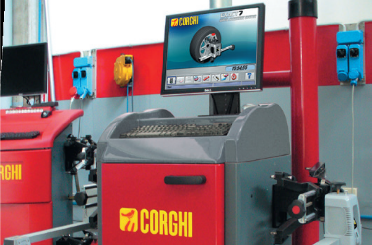 Corghi Four-post lift and wheel alignment package deals from REMA TIP TOP