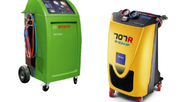 R134a and R1234yf air con service stations from Hickleys