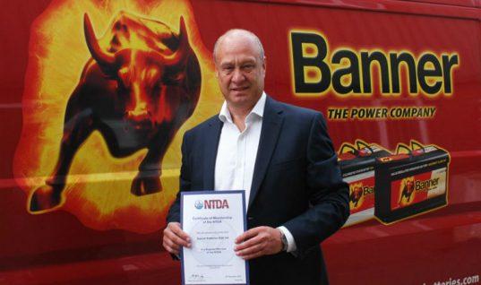 Banner Batteries joins National Tyre Distributors Association