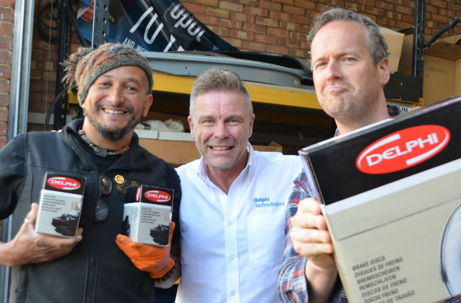 Delphi Technologies steps in to support TV's Car SOS