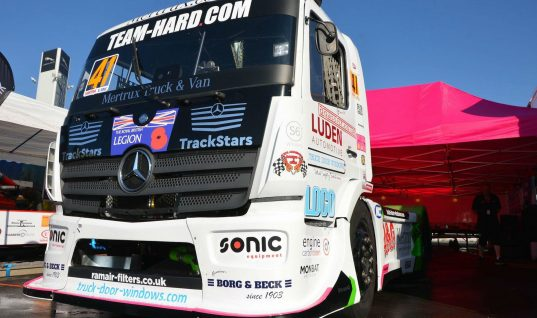 Borg & Beck makes British Truck Racing debut