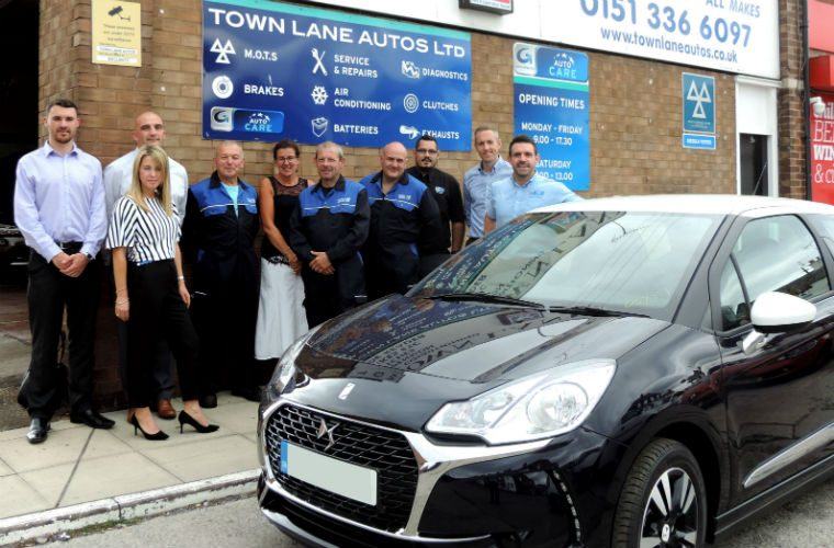 Town Lane Autos customer wins AutoCare car giveaway