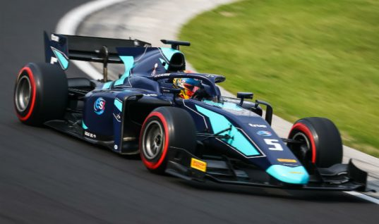 Lucas Oil F2 car wins in Hungary