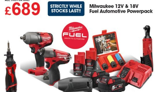 MILWAUKEE AUTOMOTIVE POWERPACK – Star buy