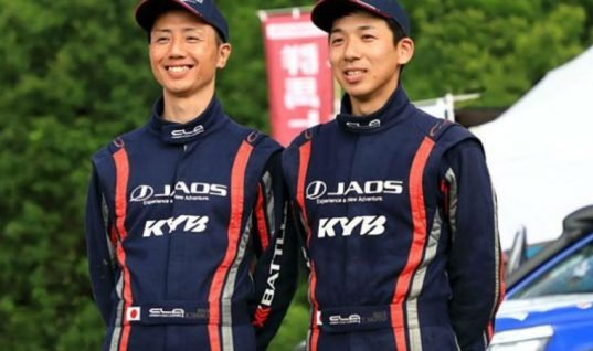 KYB and Team JAOS take on Asia cross country rally